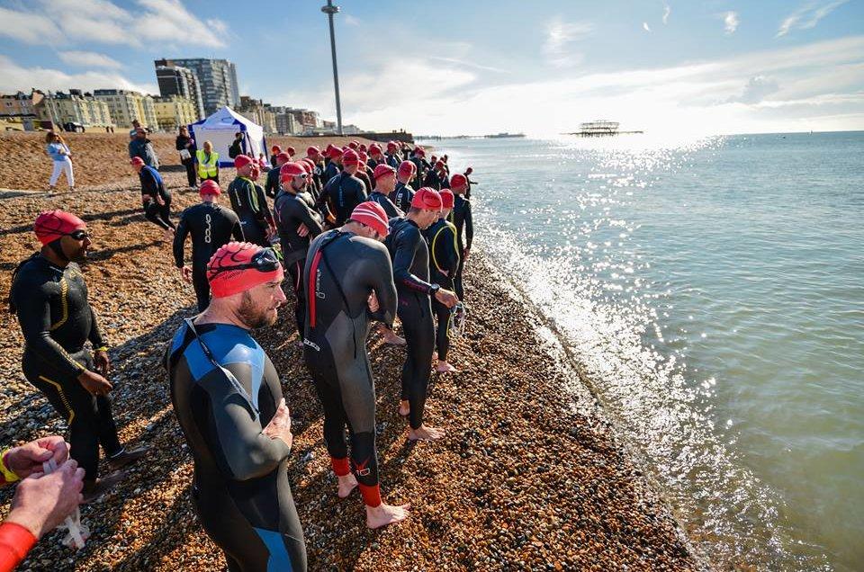 Brighton and Hove Triathlon - sestrinska utrka EARTH, SEA & FIRE
