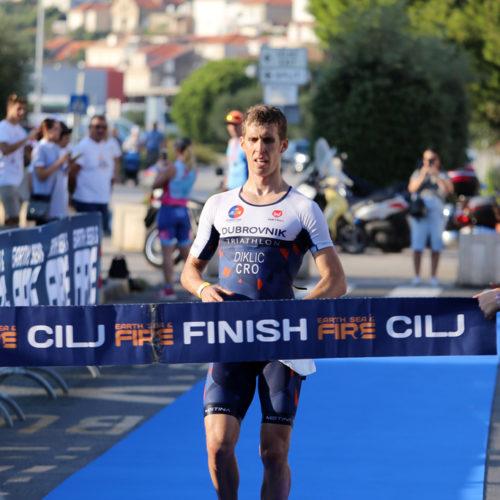 Triathlon Dubrovnik finish Diklic 2018