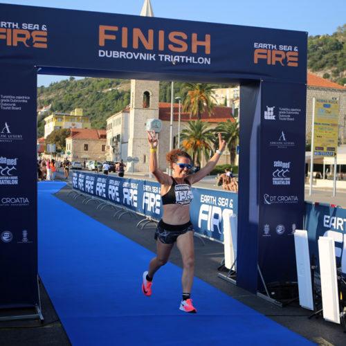 Triathlon Dubrovnik finished 2018