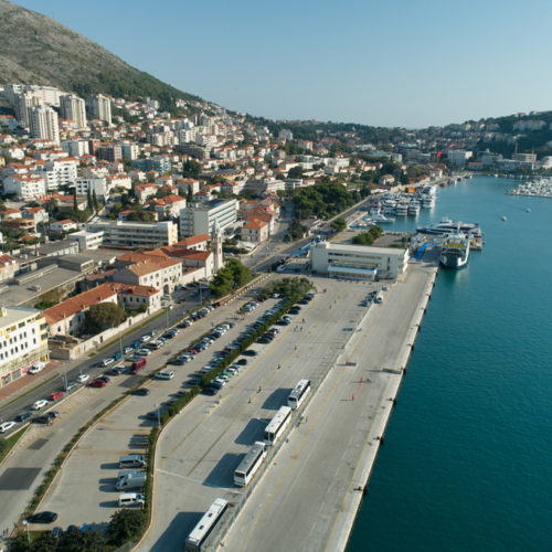 Triathlon Dubrovnik port Gruz 2018