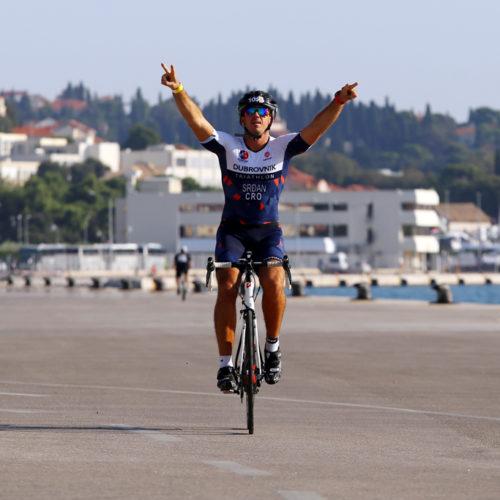 Triathlon Dubrovnik port bikers port hero 2018