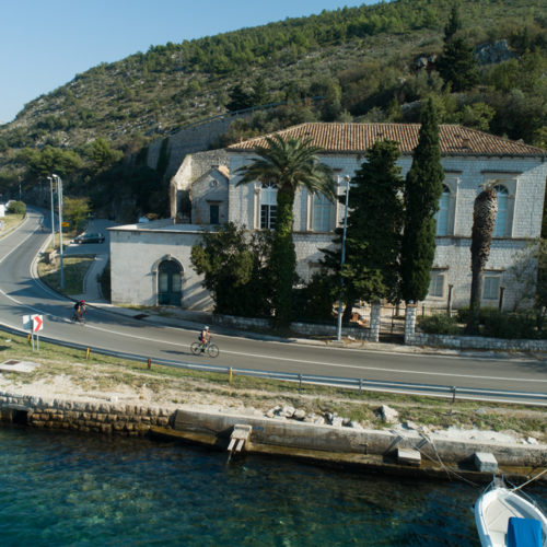 Triathlon Dubrovnik port bikers route sustjepan 2018