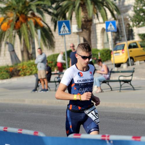 Triathlon Dubrovnik port run Djurovic 2018