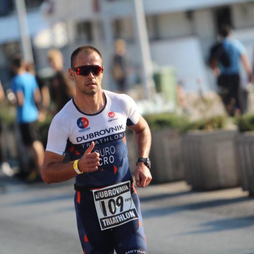 Triathlon Dubrovnik port run Duro 2018