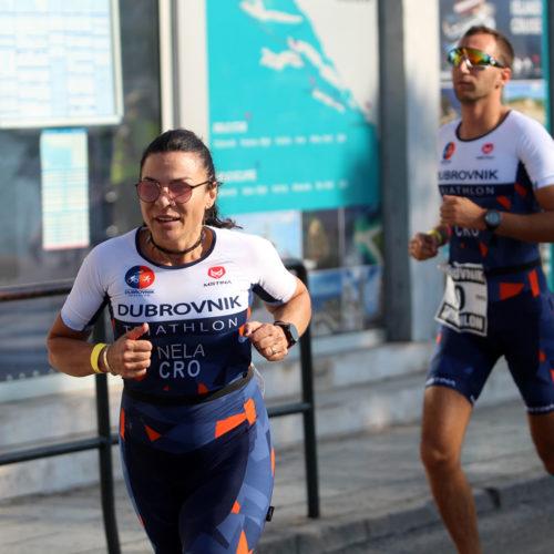 Triathlon Dubrovnik port run Nela 2018