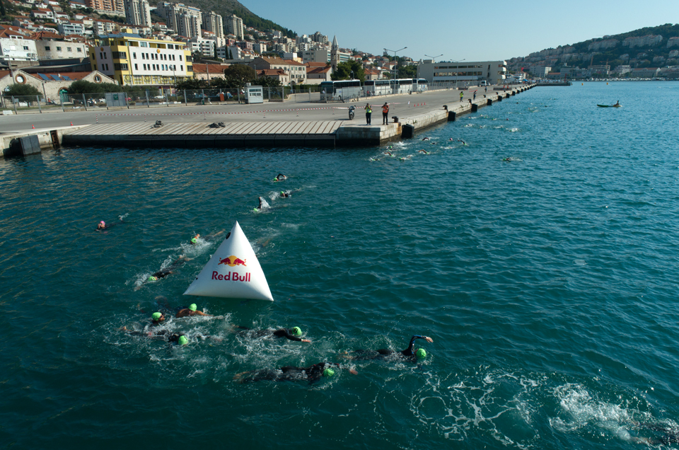 Olympic Distance Triathlon 1.5 km swim Dubrovnik Croatia Europe