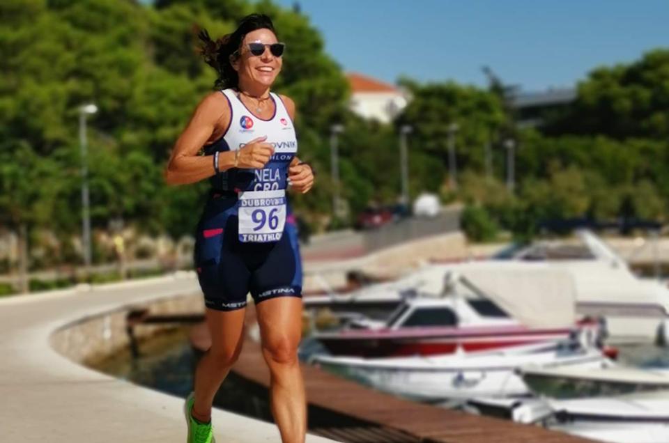 Training for the Dubrovnik Run Triathlon