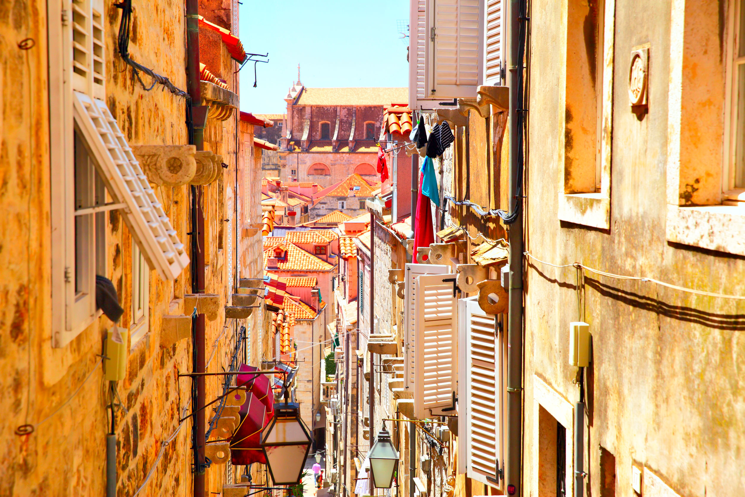 dubrovnik streets old town